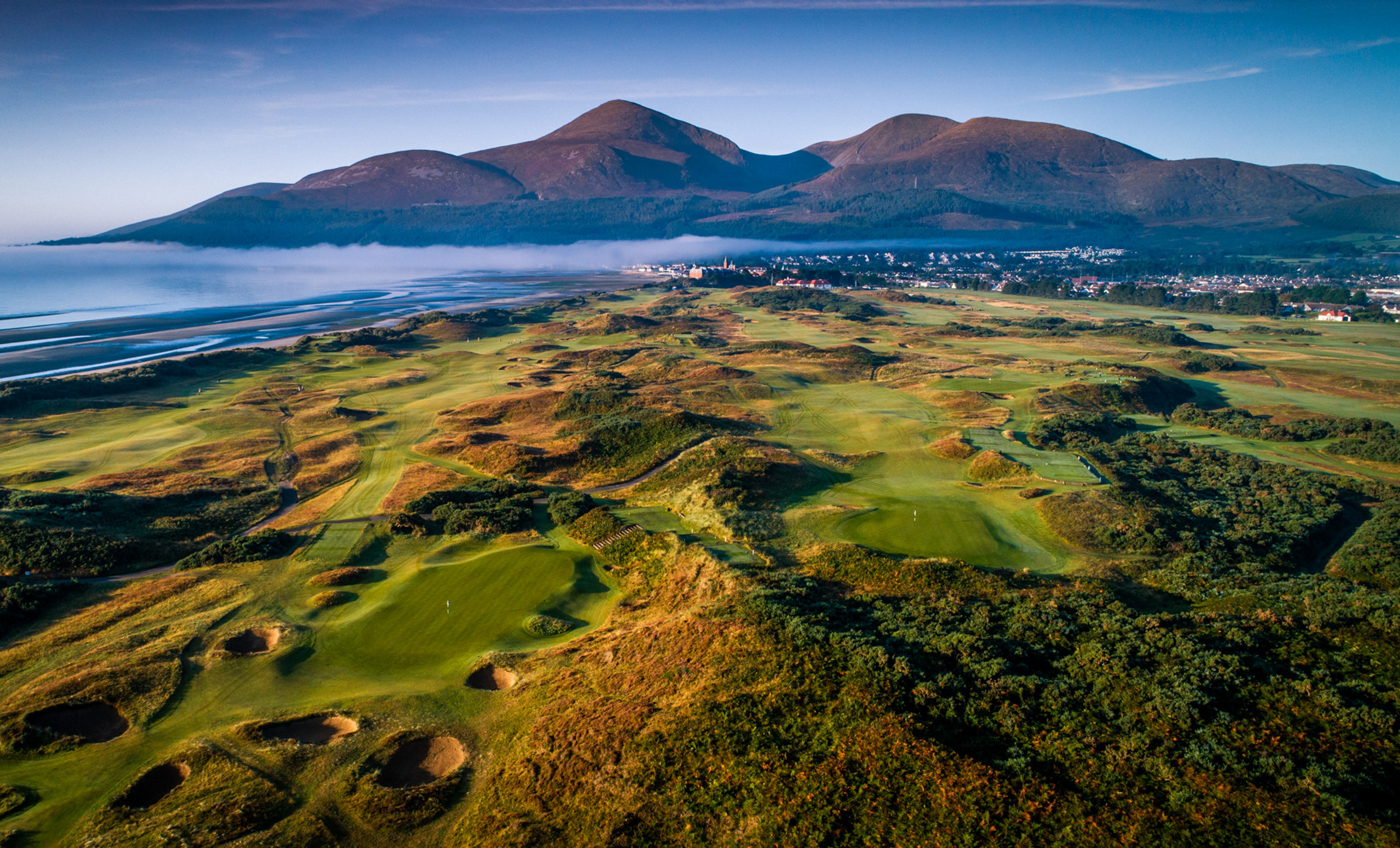 Royal County Down Irish Links Golf
